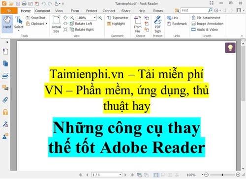 nhung cong cu thay the tot adobe reader 6