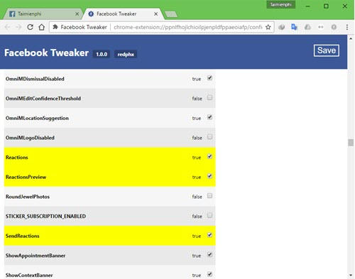 Sử dụng nút Dislike trên Facebook Messenger, nút không thích trên Messenger