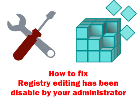 cach vao registry khac phuc loi registry editing has been disabled by your administrator