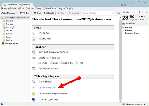 Use Thunderbird to send email messages that are annoying in outlook 9