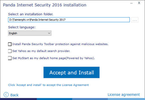 giveaway Panda Internet Security 2017