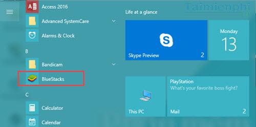 dua icon phan mem ra ngoai desktop