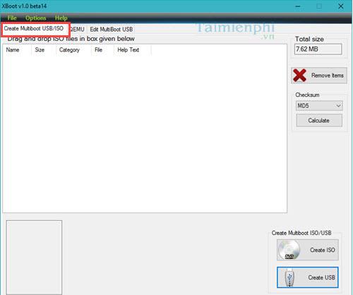 Hướng dẫn tạo USB boot đa chức năng, chứa nhiều hệ điều hành bằng XBoot 2