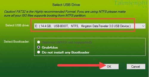 Hướng dẫn tạo USB boot đa chức năng, chứa nhiều hệ điều hành bằng XBoot 5