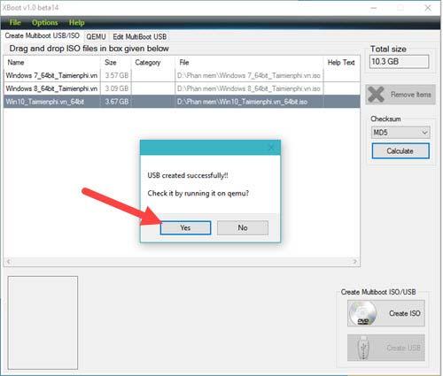 Hướng dẫn tạo USB boot đa chức năng, chứa nhiều hệ điều hành bằng XBoot 7