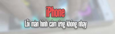 man hinh iPhone kem nhay