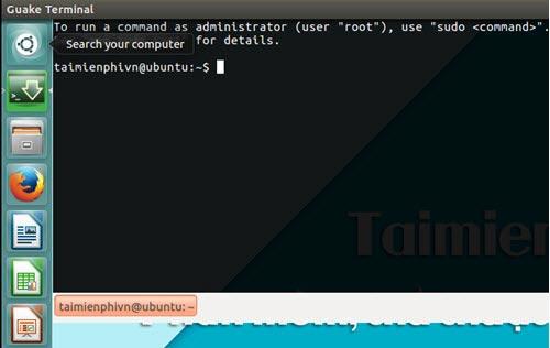 Một số cách truy cập nhanh vào Terminal trên Linux