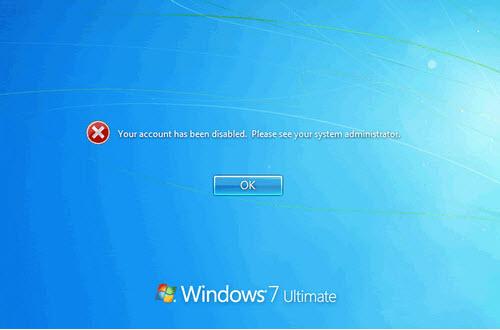 loi mat quyen admin tren windows 7