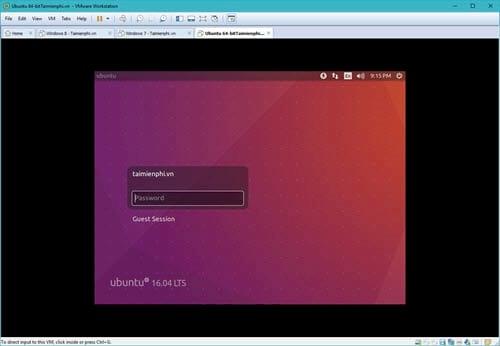 [TaiMienPhi.Vn] Cách cài Ubuntu trong VMWare, cài đặt Ubuntu trên máy ảo VMware