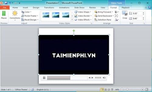 Cách khắc phục lỗi không chèn được video trong Powerpoint 2019, 2016, 2010, 2013, 2016, 2007 7