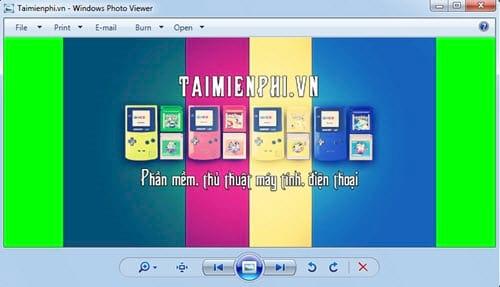 huong dan doi mau nen windows photo viewer tren windows 10 8 1 8 7 8