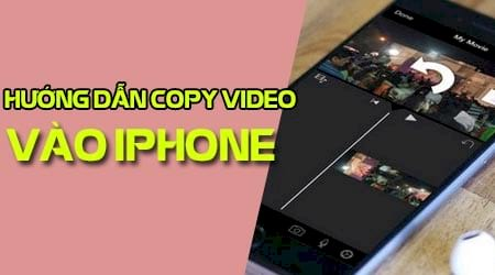 sao chep copy video tu may tinh vao iphone ipad bang itunes