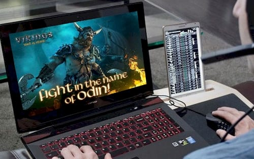 cach choi vikings war of clans tren pc laptop bang bluestacks