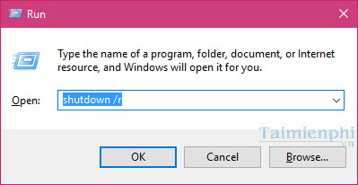 Tổng hợp các cách tắt Windows 10, shutdown win 10 nhanh nhất 9
