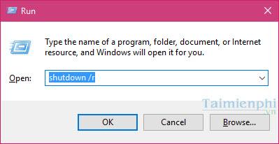 shutdown windows 10 nhanh nhat