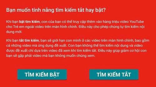 Chặn video 18 trên Youtube, chặn các video không cho trẻ xem