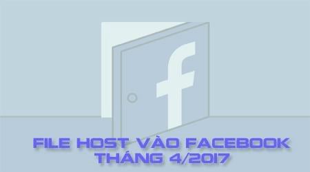 file host vao facebook thang 4 2017 vao facebook khi bi chan