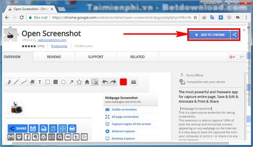 Cách chụp toàn bộ trang web trên Google Chrome, Cốc Cốc và Firefox