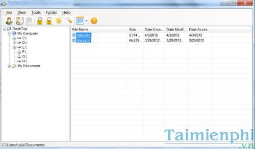 Top 5 phần mềm khóa thư mục, ẩn thư mục, folder 3