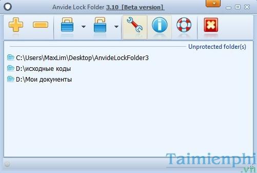 Top 5 phần mềm khóa thư mục, ẩn thư mục, folder