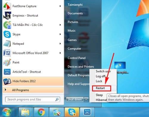 cach sua loi failure configuring windows updates reverting changes tren windows 13