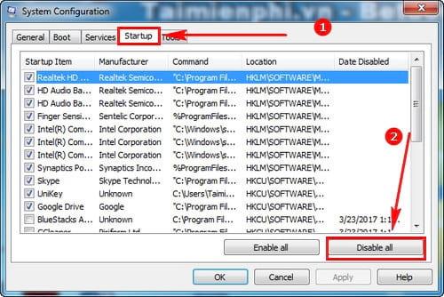 cach sua loi failure configuring windows updates reverting changes tren windows 9