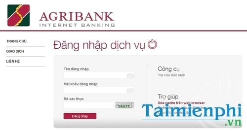 Cách kiểm tra số dư tài khoản Agribank, xem số tiền còn trong tài khoản ngân hàng Nông Nghiệp 5