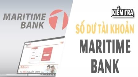 kiem tra so du tai khoan maritime bank