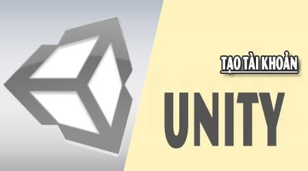 tao tai khoan unity