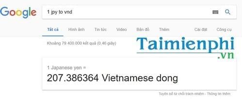 Đổi Yên sang VNĐ, 1 yên JPY, 1 nghìn yên, 1 triệu yên Nhật bằng bao nhiêu tiền Việt Nam VND 2