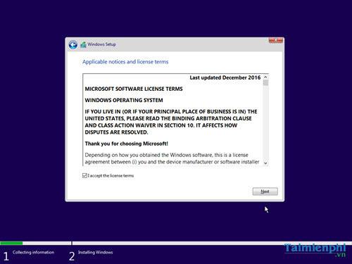 cach cai windows 10 creator update bang usb 12