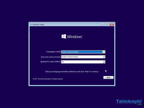 cach cai windows 10 creator update bang usb 9