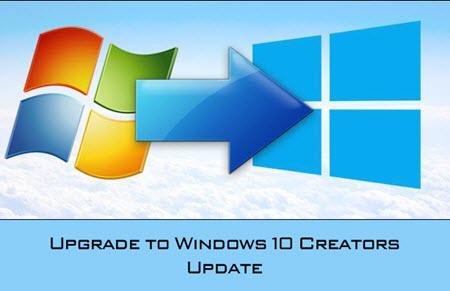 cach nang cap cap nhat windows 7 8 1 len windows 10 creators update