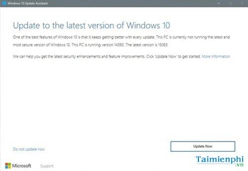 cach update cap nhat len windows 10 creators update khong mat du lieu 5