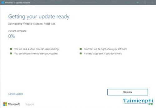 cach update cap nhat len windows 10 creators update khong mat du lieu 7