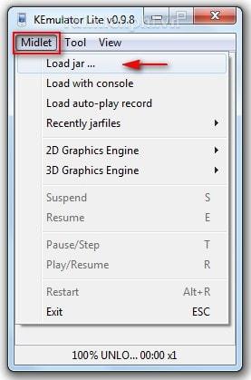 Giả lập java trên máy tính, laptop, chơi game java trên máy tính 2