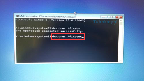 cach sua loi a boot configuration data file is missing tren windows 10 9