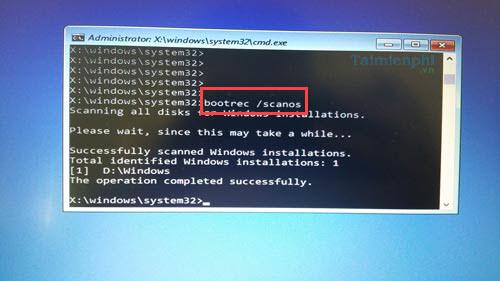 cach sua loi a boot configuration data file is missing tren windows 10 10