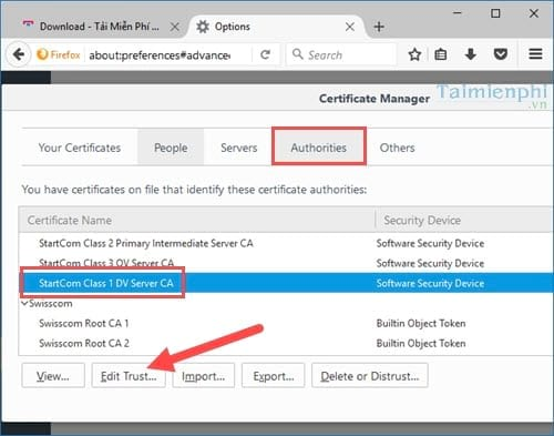 Sửa lỗi sec_error_revoked_certificate trên Mozilla Firefox, lỗi không vào được website