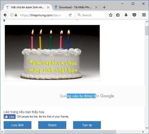 Tạo thiệp trực tuyến, online, khung ảnh đẹp, thiệp chúc mừng