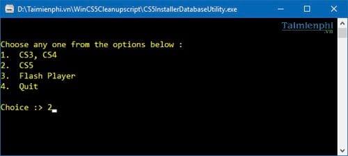 Xóa sạch phần mềm của Adobe, gỡ bỏ phần mềm Adobe trên máy tính
