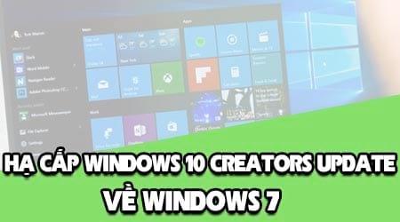 ha cap windows 10 creators update ve windows 7