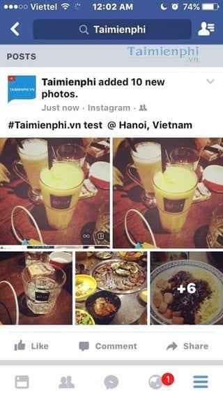 Hướng dẫn chia sẻ nhiều ảnh, video cùng lúc trên cùng 1 bài post Instagram