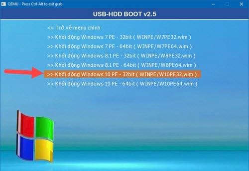 Cách tạo Windows PE, Win mini để sửa lỗi Windows 10