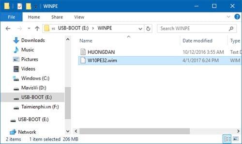 Cách tạo Windows PE, Win mini để sửa lỗi Windows 7