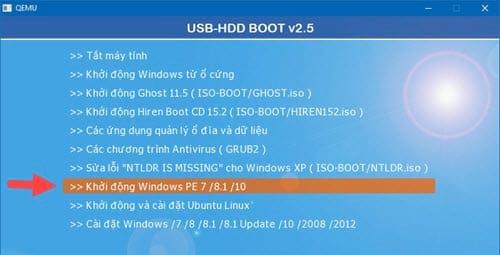 Cách tạo Windows PE, Win mini để sửa lỗi Windows 9