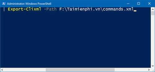 huong dan xem lich su bang cau lenh tren windows powershell 14