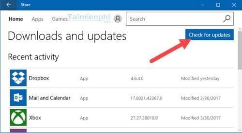 Sửa lỗi 0x87AF000B trong Windows Store trên Windows 10