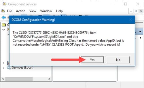 Cách sửa lỗi Class Not Registered trên Windows 10, không mở được file, ứng dụng 5