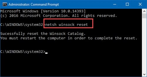 cach sua loi unidentified network tren windows 10 4